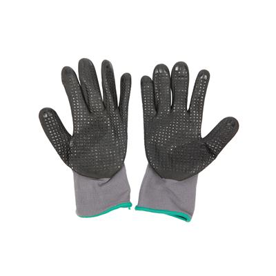 ถุงมือถัก M เทา ไมโครเท็กซ์ HI-GRIP