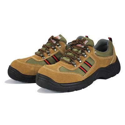 รองเท้านิรภัย เบอร์ 7 น้ำตาล แพงโกลิน PG1080U