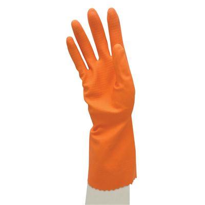 ถุงมือยาง ส้ม SYNOS 20SNSNOVA55-ORG