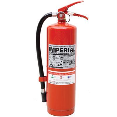เครื่องดับเพลิงเคมีแห้ง 10 ปอนด์ แดง อิมพีเรียล