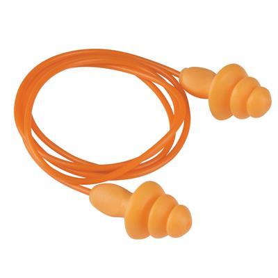 ปลั๊กลดเสียงมีสาย ส้ม (100คู่/กล่อง) 3M 1270
