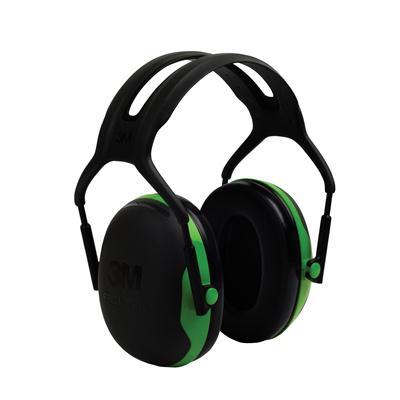 ที่ครอบหูลดเสียง ดำ-เขียว 3M X1ANRR 22