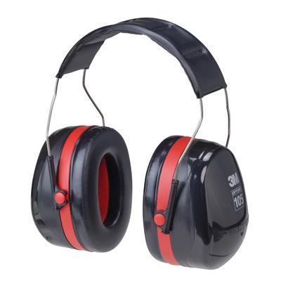 ที่ครอบหูลดเสียง ดำ-แดง 3M H10A NRR30