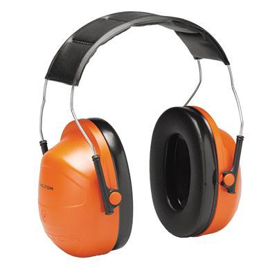 ที่ครอบหูแบบคาดศีรษะ ส้ม 3M H31A NRR24