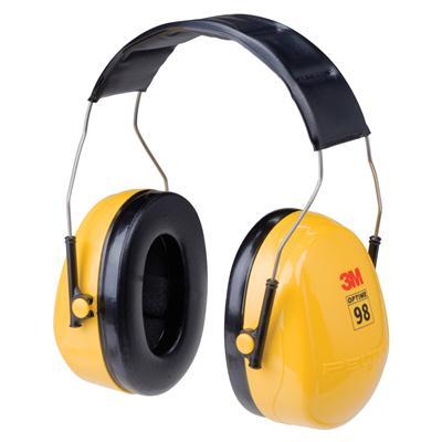 ที่ครอบหูลดเสียง เหลือง 3M H9A NRR25
