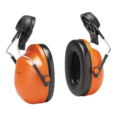 ครอบหูแบบติดหมวก ส้ม 3M H31P3E NRR23