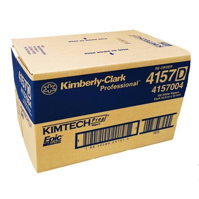 ผลิตภัณฑ์เช็ดคราบน้ำมัน ขาว (150แผ่น) คิมเท๊กซ์ 4157
