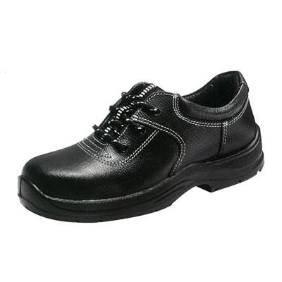 รองเท้านิรภัยหุ้มส้นหนังเรียบ เบอร์3 ดำ KINGS KR7000X