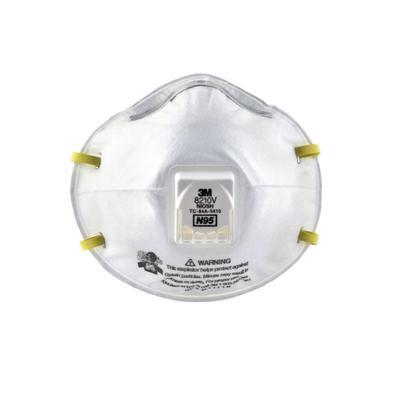 หน้ากากกันฝุ่นละออง (10ชิ้น/กล่อง) 3M 8210V N95