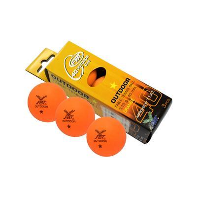 ลูกปิงปอง 40 มม. (3 ลูก/ชุด) ส้ม FBT
