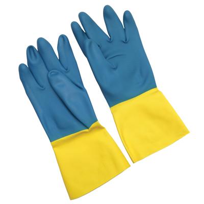 ถุงมือยางทนต่อสารเคมีทั่วไป (Size M) 3M Tekk