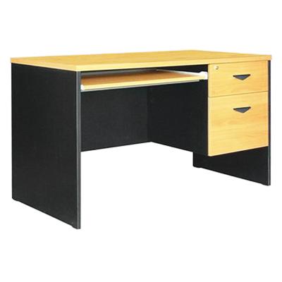 โต๊ะคอมพิวเตอร์ เชอร์รี่-ดำ STB ST-120B