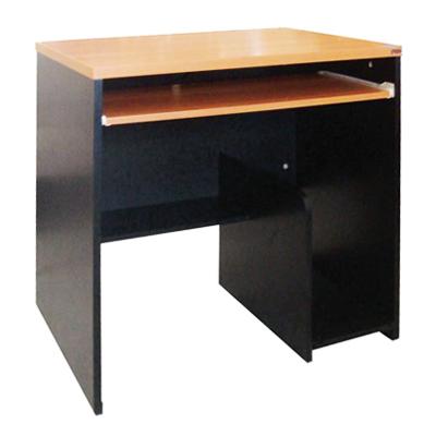 โต๊ะคอมพิวเตอร์ เชอร์รี่-ดำ STB ST-080A