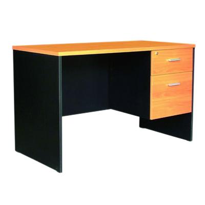 โต๊ะทำงาน เชอร์รี่-ดำ MONO TWC-1502-75F