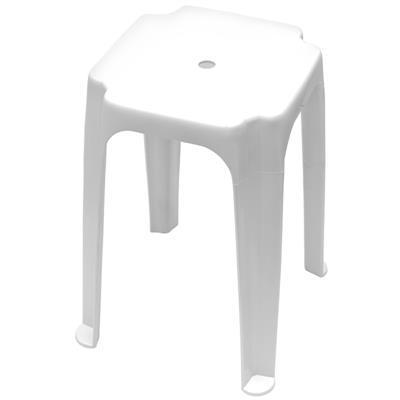 เก้าอี้พลาสติก ขาว บาสเก็ต 1010