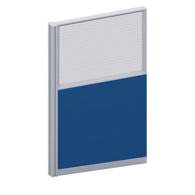 ฉากกั้นห้องครึ่งกระจกขัดลาย Sebel HGF1-60150