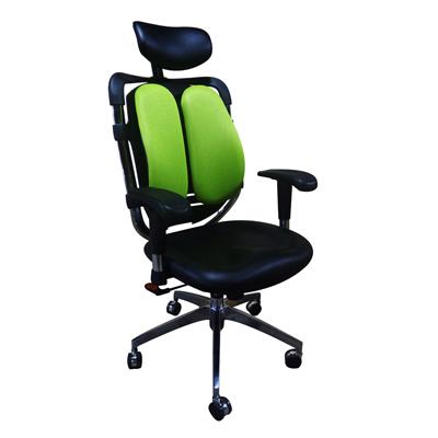 เก้าอี้เพื่อสุขภาพ ดำ-เขียว Decent TS025A-1