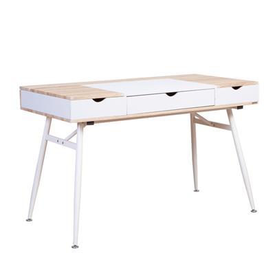 โต๊ะทำงานพร้อมลิ้นชัก บีช เฟอร์ราเดค CT-1519