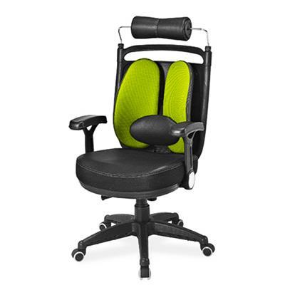 เก้าอี้เพื่อสุขภาพ เขียว เออร์โกเทรน Dual-08GFP