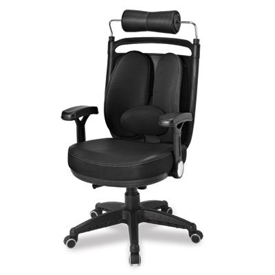 เก้าอี้เพื่อสุขภาพ ดำ เออร์โกเทรน Dual-08BFP