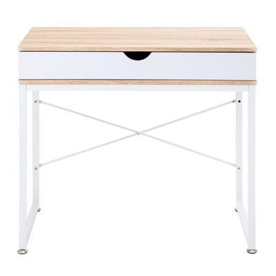โต๊ะทำงานพร้อมลิ้นชัก บีช เฟอร์ราเดค CT-1407