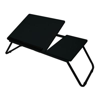 โต๊ะวางโน้ตบุ๊ค ดำ ร็อกวู๊ด EXW9054