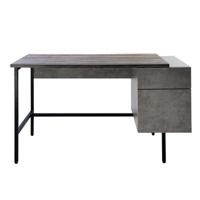 โต๊ะทำงานพร้อมตู้ข้าง สีลายไม้ เฟอร์ราเดค CT-1727