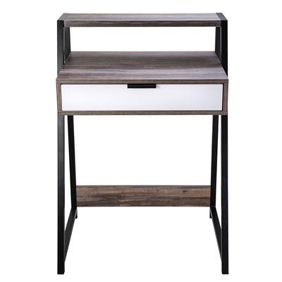 โต๊ะทำงานพร้อมลิ้นชัก สีลายไม้ เฟอร์ราเดค CT-1716