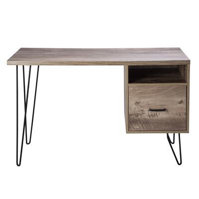 โต๊ะทำงานพร้อมลิ้ันชัก สีไม้ธรรมชาติ เฟอร์ราเดค BG1715