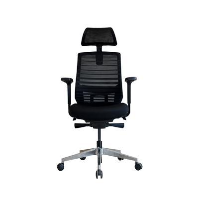 เก้าอี้ผู้บริหาร สีดำ เอเลเมนซ์ EM-801E