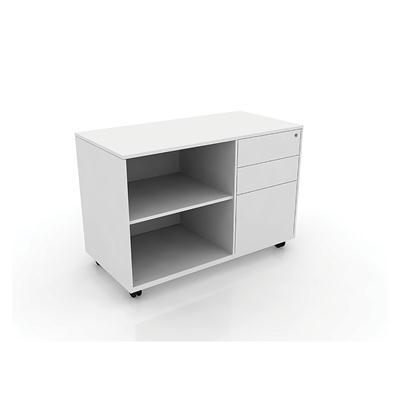 ตู้ข้างโต๊ะ สีขาว เฟอร์ราเดค CK-RT-OS-L-BBF