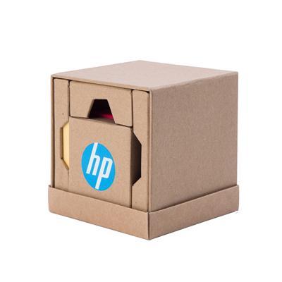 กล่องกระดาษโน้ตกาวในตัว+ที่วาง+สกรีน1สี Premium UT1240I