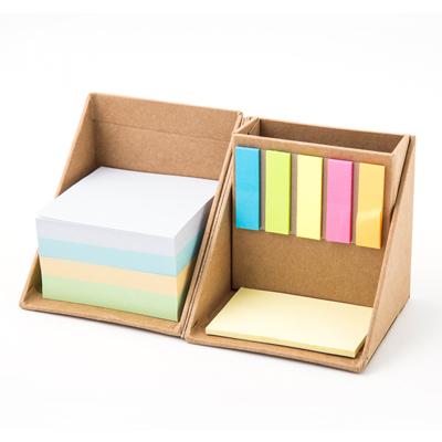 กล่องกระดาษโน้ตกาวในตัว+สกรีน 1 สี 1จุด Premium MN-1624