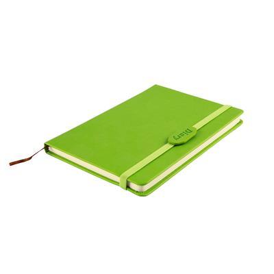 สมุดโน้ตปกแข็ง PU+สกรีน 1 สี 1 จุด Premium NB-001