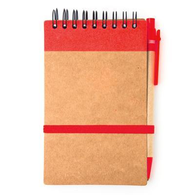สมุดโน้ตสันลวด+ปากกา+สกรีน 1 สี 1 จุด Premium MN-146