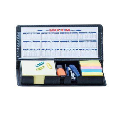 ชุดโพสต์อิทในกล่องหนัง+สกรีน 1 สี 1 จุด Premium MN-104