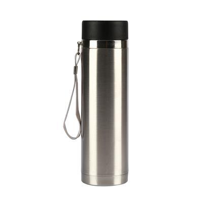 กระบอกน้ำสแตนเลสสายหิ้ว+สกรีน 1 สี 1จุด Premium FK-1539