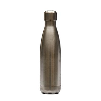 กระบอกน้ำสแตนเลสทรงโบลิ่ง+สกรีน 1สี1จุด Premium FK-888