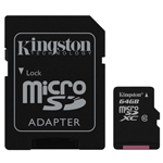Kingston Micro SDXC Class10 Memory Card 64 GB